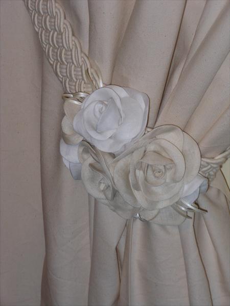Embrasse Per Tende Embrasse Con Rose Dettaglio Prodotto